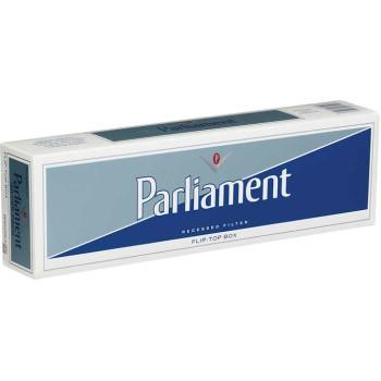 Parliament Silver Pack Box