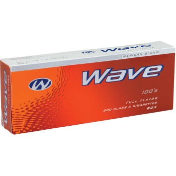 Wave Red 100s Box