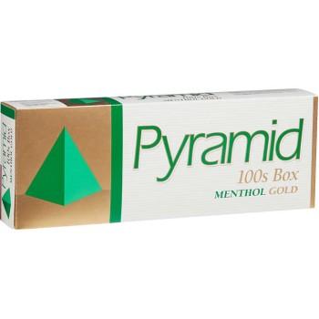 Pyramid Menthol Gold 100s Box