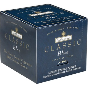 Nat Sherman Classic Blue Box