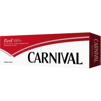 Carnival Red 100s Box