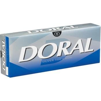 Doral Silver 100s Box
