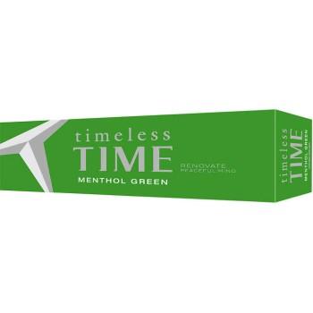 Timeless Time Menthol Green King Box