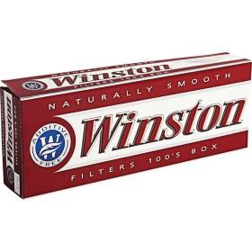 Winston Red 100s Box