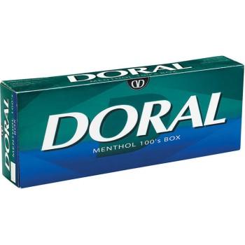 Doral Menthol 100s Box