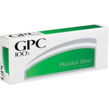 GPC Menthol Silver 100s Soft Pack