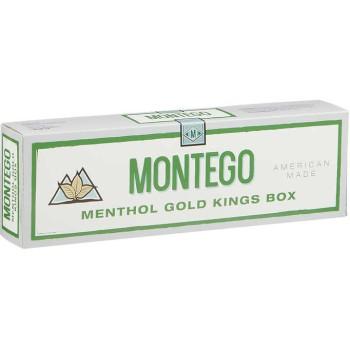 Montego Menthol Gold Kings Box