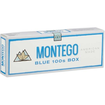 Montego Blue 100s Box