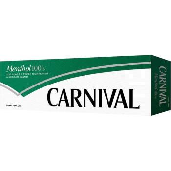Carnival Menthol 100s Box