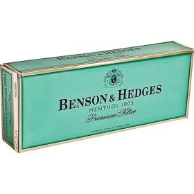 Benson & Hedges Menthol 100s Soft Pack