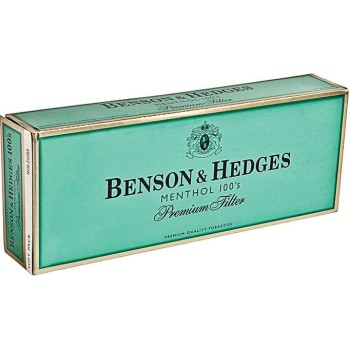 Benson & Hedges Menthol 100s Soft Pack
