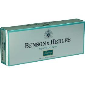 Benson & Hedges Menthol 100s Luxury Soft Pack
