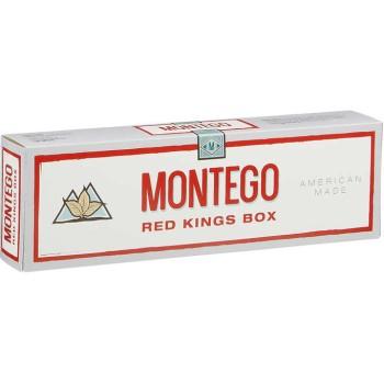 Montego Full Flavor Red Kings Box