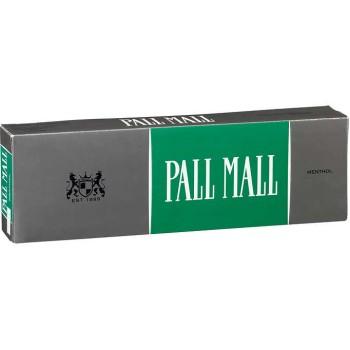 Pall Mall Classic Menthol 85s Box