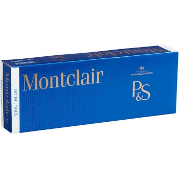 Montclair Blue 100s Box