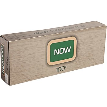 Now Menthol 100s Soft Pack