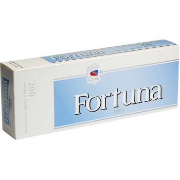 Fortuna Pale Blue 100s Box