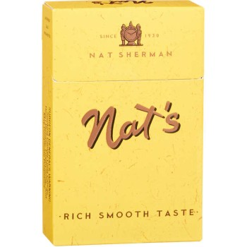Nat Sherman Yellow Kings Box