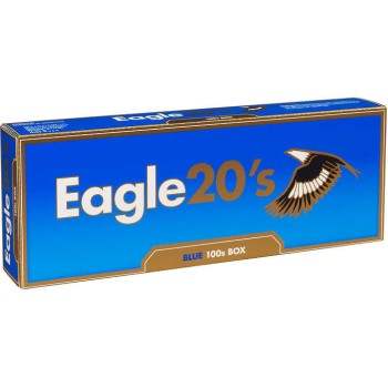 Eagle 20s Blue 100s Box