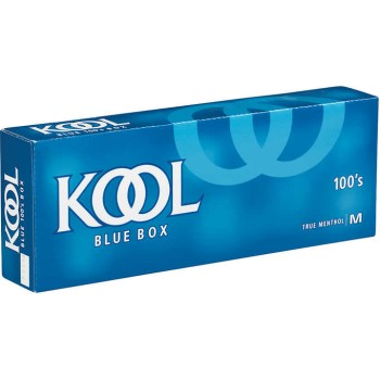 Kool Menthol Blue 100s Box