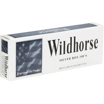 Wildhorse Silver 100s Box
