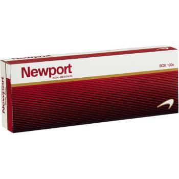 Newport Non-Menthol Red 100s Box