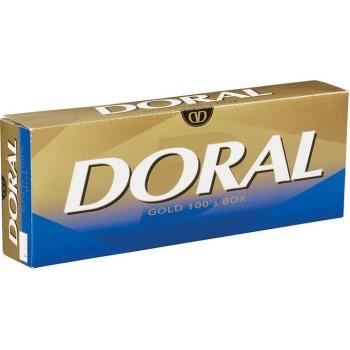 Doral Gold 100s Box