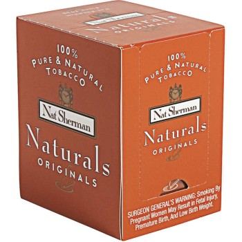 Nat Sherman Naturals Originals Box