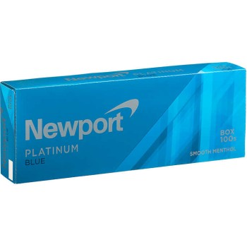 Newport Menthol Platinum Blue 100s Box