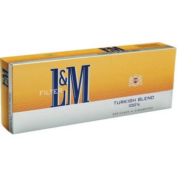 L&M Turkish Blend 100s Box