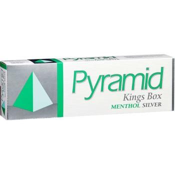 Pyramid King Menthol Silver Box