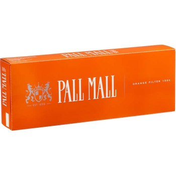 Pall Mall Orange 100s Box