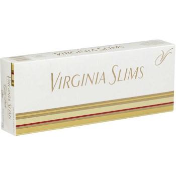Virginia Slims Gold Pack Box