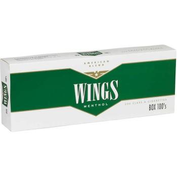 Wings Menthol 100s Box