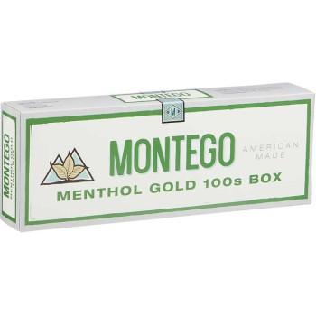 Montego Menthol Gold 100s Box