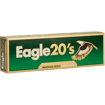 Eagle 20s Menthol Gold King Box