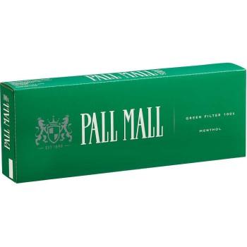 Pall Mall Menthol 100s Box