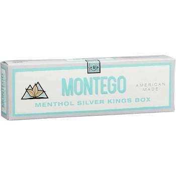 Montego Menthol Silver Kings Box