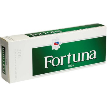 Fortuna Menthol Dark Green 100s Box