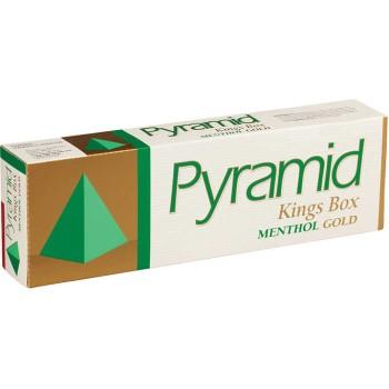 Pyramid King Menthol Gold Box