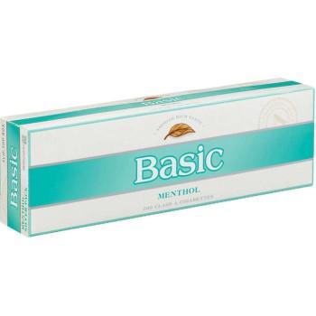Basic Menthol Silver Pack Box