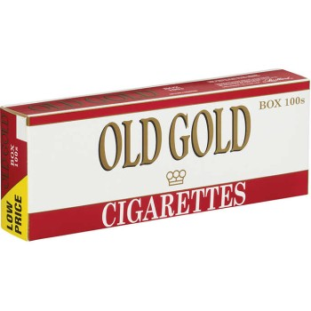 Old Gold 100s Box