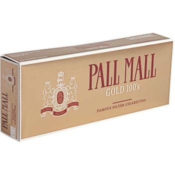Pall Mall Gold 100s Box