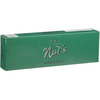 Nat Sherman Menthol Kings Box
