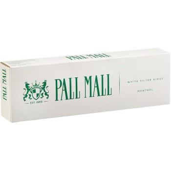 Pall Mall Menthol White Filter Kings Box