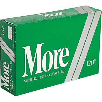 More Menthol 120s Soft Pack