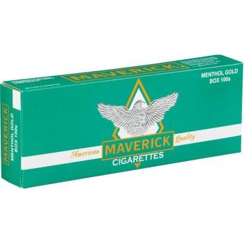 Maverick Menthol Gold 100s Box