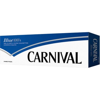 Carnival Blue 100s Box