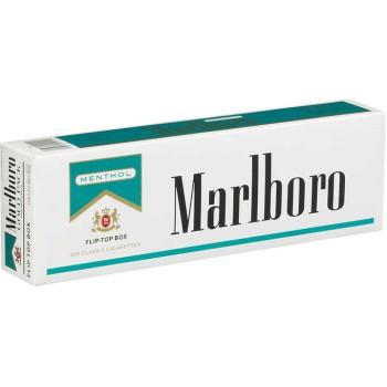 Marlboro Menthol Gold Pack Box