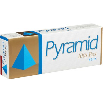 Pyramid Blue 100s Box